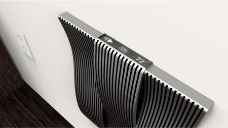 The slick and elegant wall heater