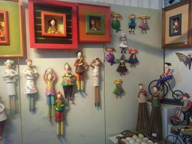 Anne Klocko Clay Artwork
