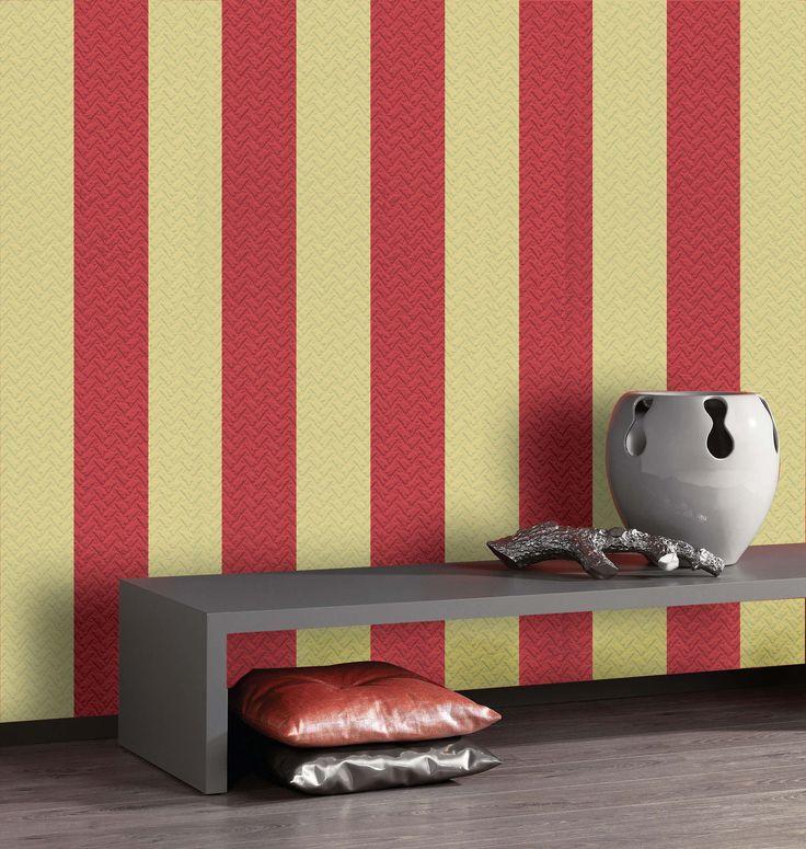 Empapelado - Rayas - Papel de parede