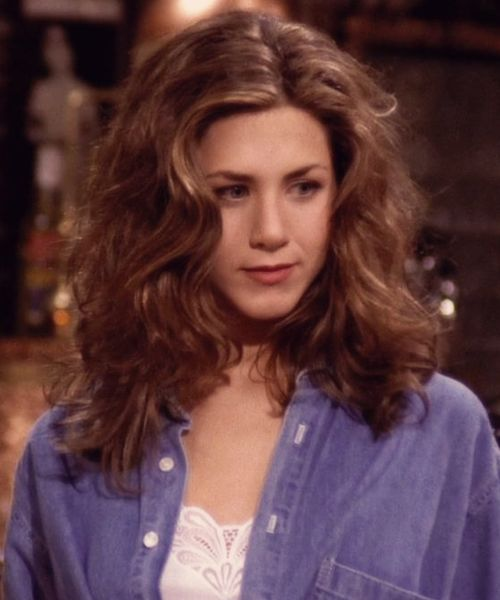 GIRLBOSS MOOD: That hair though. // Throwback to Jennifer Aniston FRIENDS era
