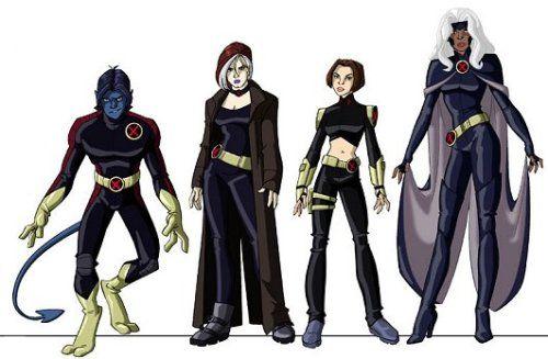 """charactermodel: """" X-Men Evolutions Hank McCoy, Ororo Munroe, Scott ..."""