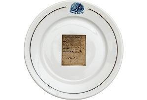 Loyola College Dining Room Dish, C. 1910