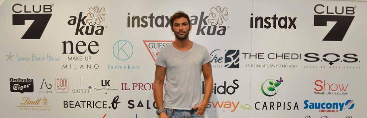Francesco Arca da #club7 e #Akkua a #Venezia71!!