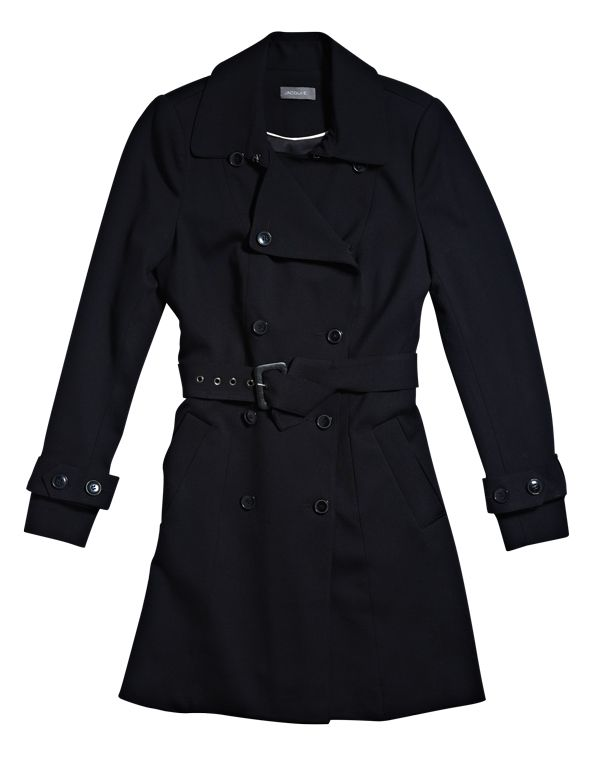 Trench Coat from Jaquie E. #monochrome