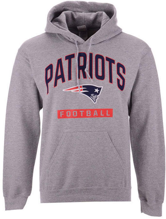 87c3b65e07b Authentic Nfl Apparel Men s New England Patriots Gym Class Hoodie