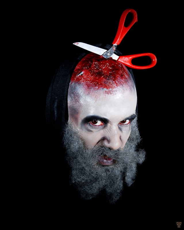 Monster - Mostre / Beard / Theater / Theatre / Weird  @ Make Up For Ever Academy - Paris ( Diogo Freis )