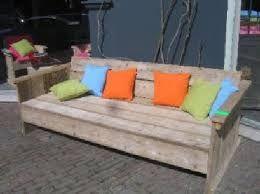 Bildergebnis für hoekbank tuin hout opbergruimte