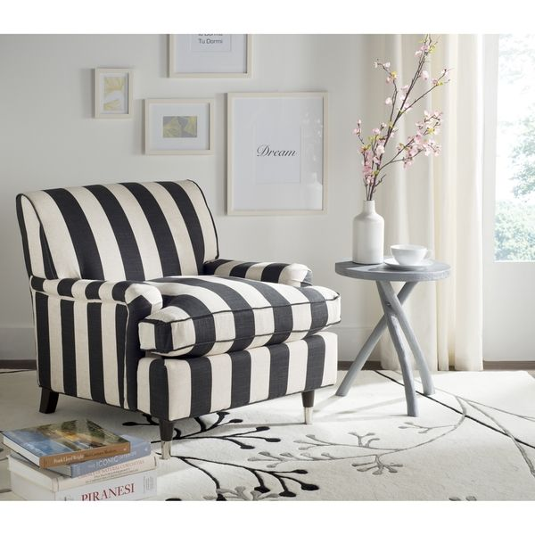 striped living room chairs. Safavieh Chloe Black  White Club Chair 184 best HOME SOFAS CHAIRS images on Pinterest Sofas