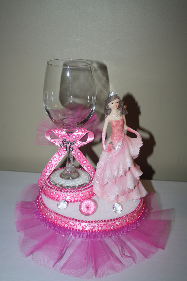 quinceanera sweet 16 centerpiece by Maylin201 on Etsy