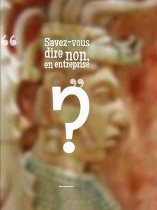 """Savoir dire """"non"""", au travail   #Coaching de #Carrière #affirmation #entreprise"""