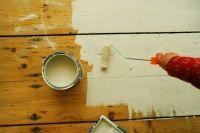 Holzboden, Holztreppe farbig deckend streichen, lackieren - kein Problem bei LACKundFARBE24.de
