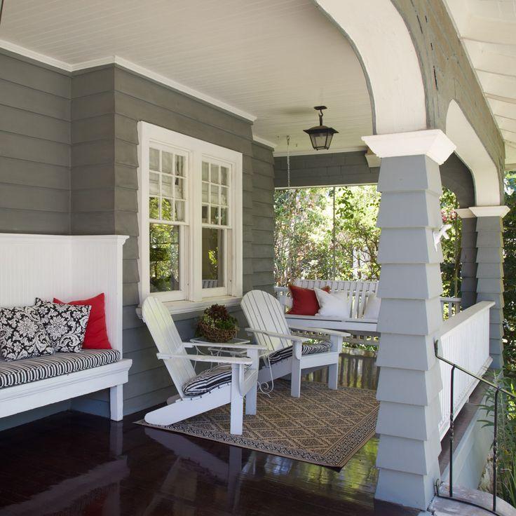 Interior Exterior House Painters: Dunn-Edwards Paints Paint Colors: Body: Stone Craft DE6292