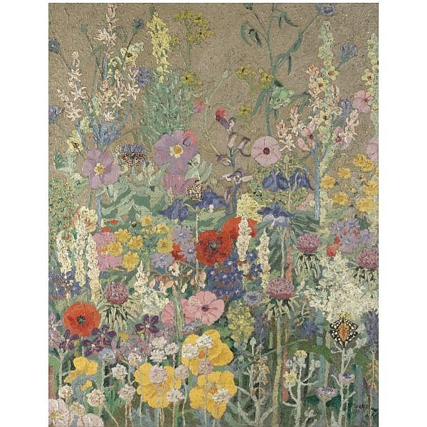 cedric morris flowers | Sir Cedric Morris , 1889-1982 flowers oil on canvas