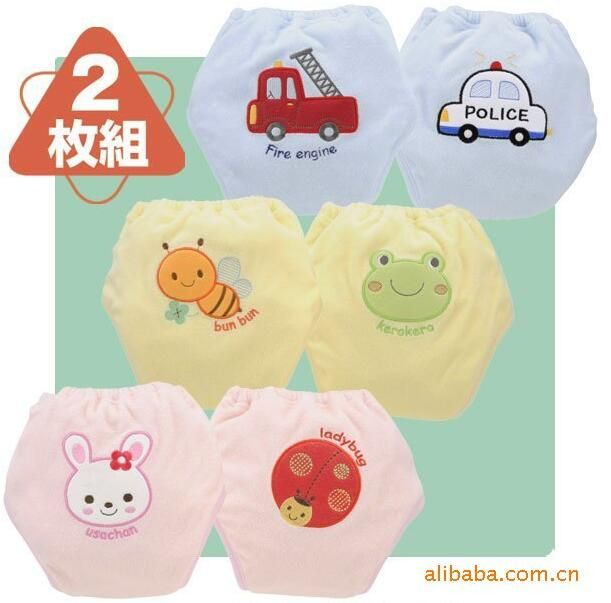 girls and boys every urine underwear  fit 0-3 yrs baby diaper  training pants 24pieces/ lot