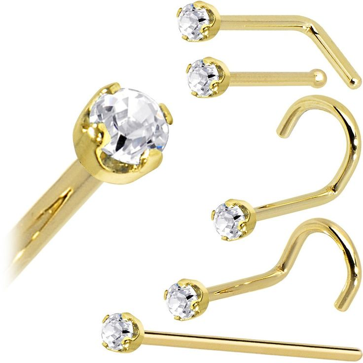 740 best 14K Gold Body Jewelry images on Pinterest Gold body