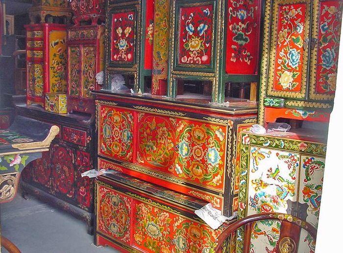 Gallery.ru / Фото #129 - Расписная мебель - Olgica