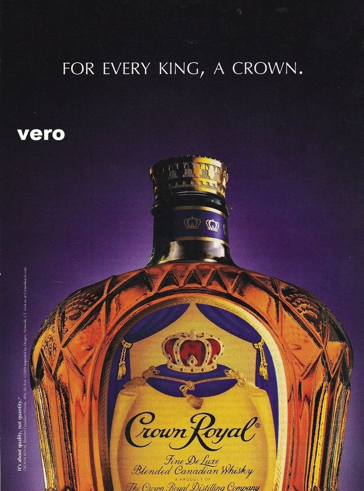 Analysis of crown royal advertisement