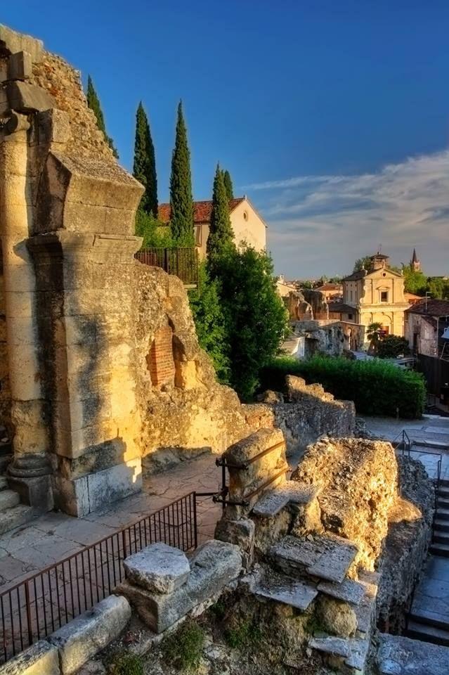 The Roman Theater, Verona, Italy!