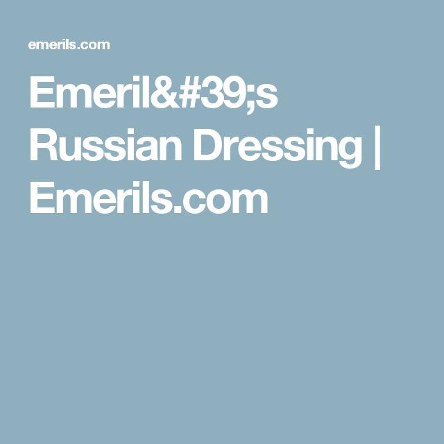 Emeril's Russian Dressing | Emerils.com