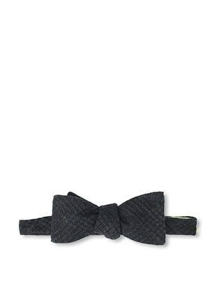 Gitman Blue Men's Stripe Bow Tie, Grey