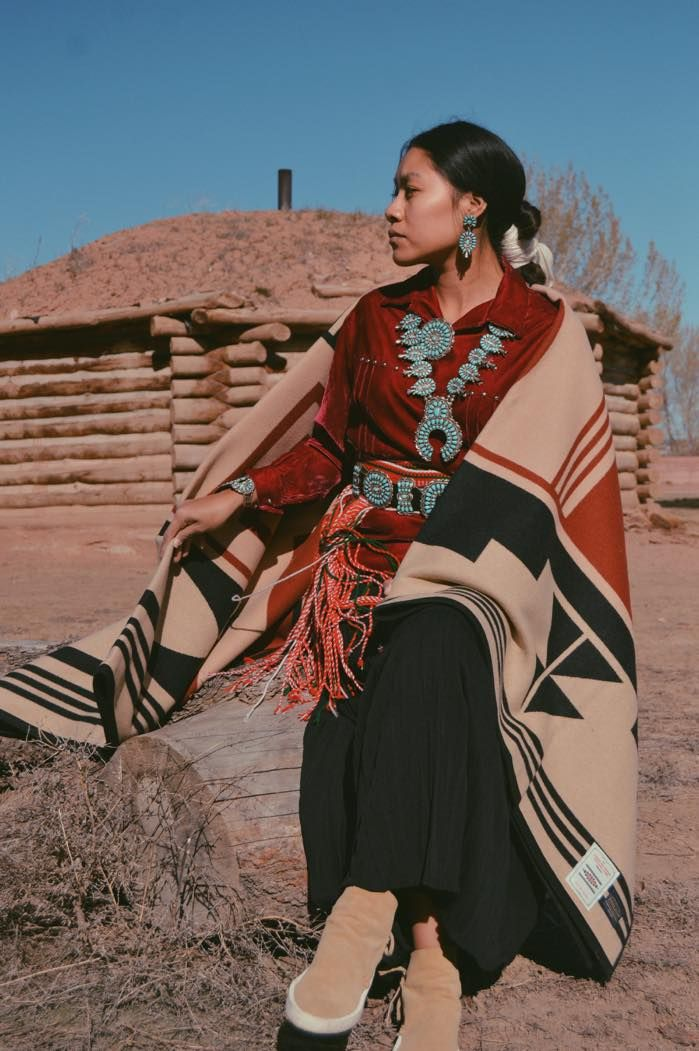 "Pendleton Woolen Mills has introduced a new, exclusive blanket for 2017 called ""Gift of the Earth"" which will benefit the American Indian College Fund. The blanket honors the storytelling, history, and culture of the Hopi Tribe."