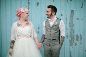 Cute, Quirky & Colourful Backyard Wedding: Skip & Soya