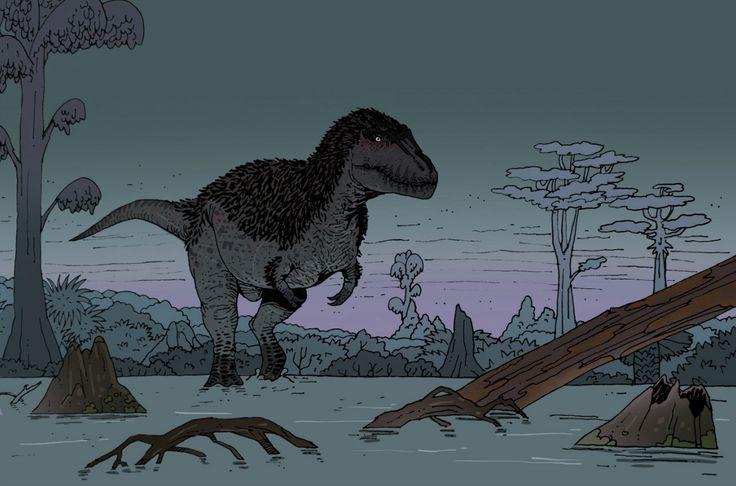 Tyrannosaurs Rex my first paleoart :)