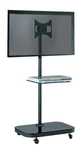FS940 LED/LCD TV Trolley Floor Stand w/ Mounting Bracket & Glass Shelf Allcam http://www.amazon.co.uk/dp/B003KVH8D8/ref=cm_sw_r_pi_dp_LRU9wb1PDGKJT