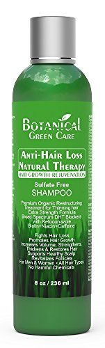 Introducing AntiHair Loss Natural Therapy Premium OrganicSulfateFree Caffeine Shampoo Hair Growth Scalp Stimulating Botanical Formula. Great Product and follow us to get more updates!