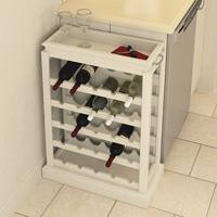DIY - Support pour bouteilles de vins avec plan complet