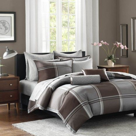 Woven Plaid Bedding Collection