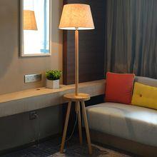 US $645.00 American solid wood floor lamp room bedroom bedside floor lamps in simple vertical style hotel room lamp bedside lamp lights. Aliexpress product