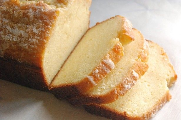 Golden Vanilla Pound Cake - This pound cake is a rich, dark brown outside, with an ultra-fine, golden crumb.