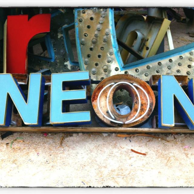 Neon museum Las Vegas