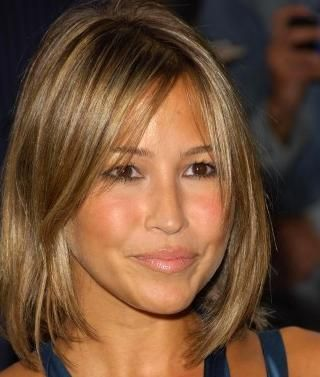 Trendy short haircuts for thin hair - Medium length hairstyles