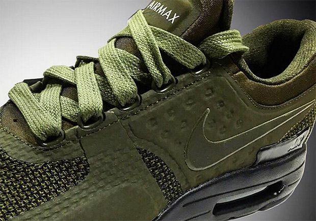 Nike Air Max Zero: Olive colorway coming.  #Sneakers #NIke