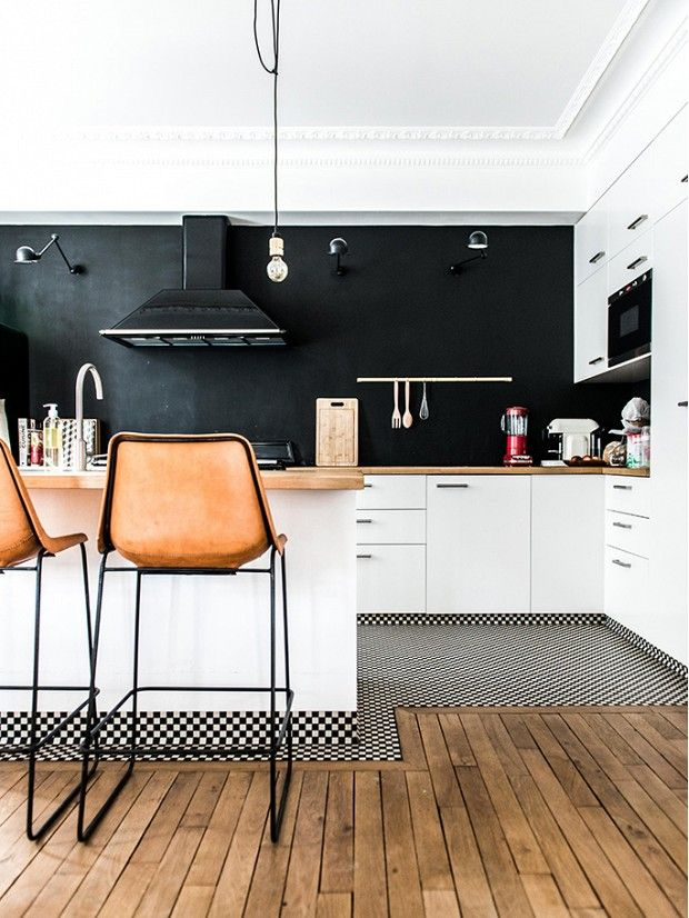 Tour a Gorgeous French Home With Powerful Pattern