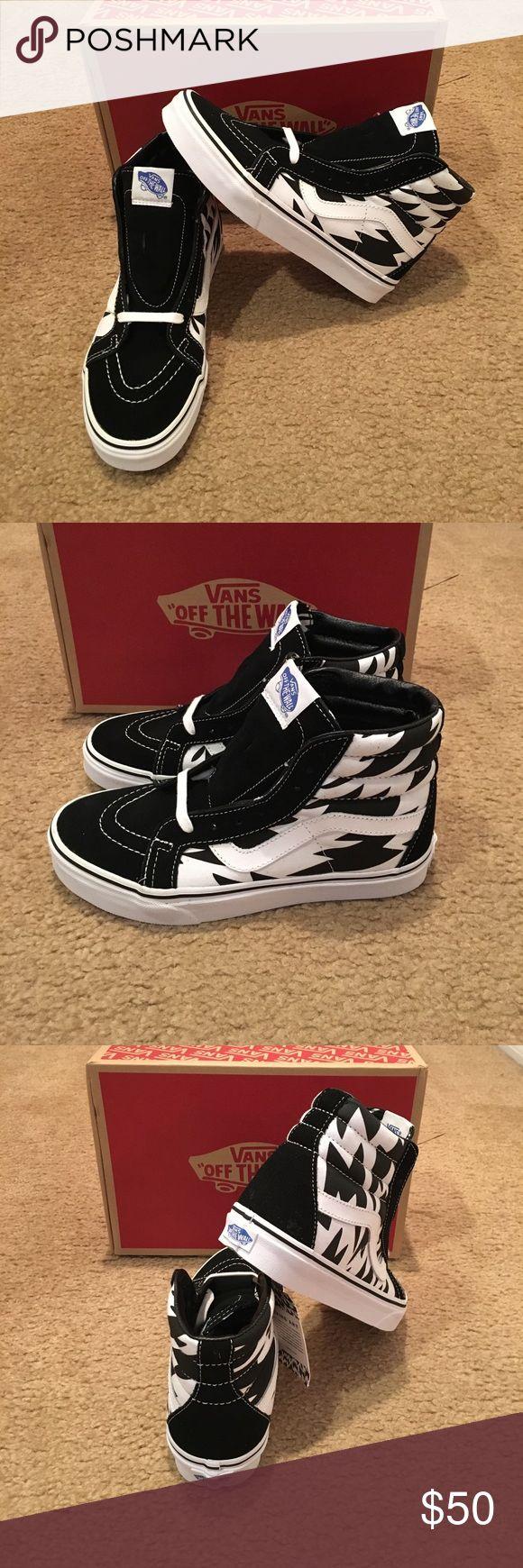 Eley kishimoto Sk8Hi Reissue Vans New in box. Flash/white/black Vans Shoes Sneakers