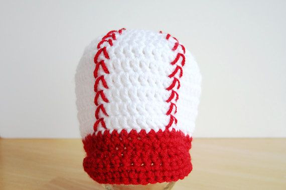 Toddler Baseball Cap, kids baseball hat, crochet hat with brim, boy baseball hat, 12 month to 4T size available on Etsy, $21.00