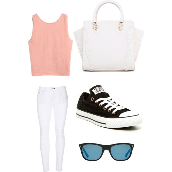 Geen titel #6 by ninavanoss on Polyvore featuring polyvore, mode, style, rag & bone, Converse and Polo Ralph Lauren