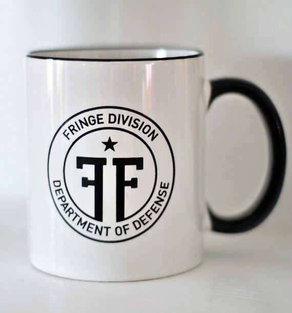 Fringe Division Mug!!! Why don't I own this?
