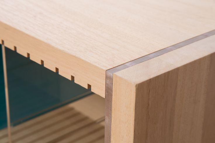 """Farbe"" sideboard made by AITO Designer: Alexandra Modorsanu"