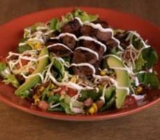 Recipe: (Grilled Carne Asada Salad)  Steak Salad From Margaritas Mexican Restaurant