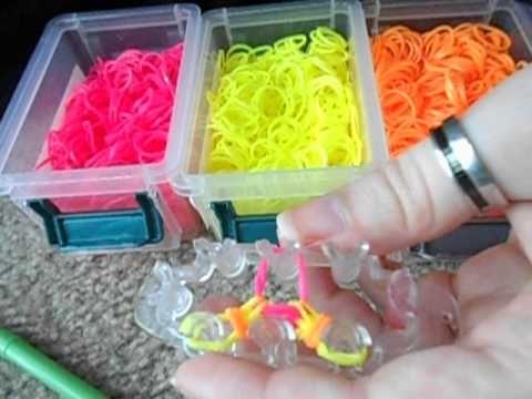 The Stepper bracelet using Monster Tail loomboard.