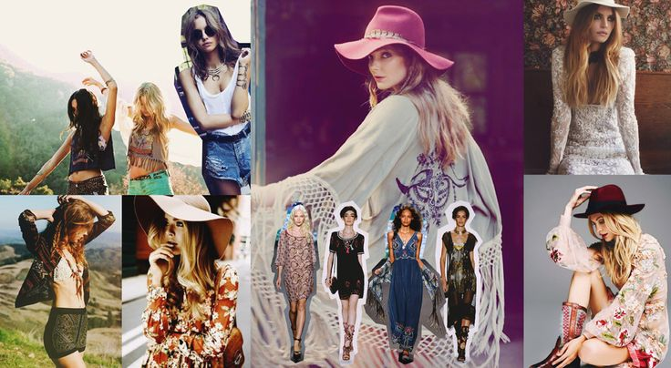 Festival style is all about beautiful prints, hats, florals, layered jewels, mermaid hair, kimono's, crop tops, lace, and your fave pair of booties. Just as good in full colour as it is in black or white (think white lace everywhere), this trend is totally open to your interpretation! - Amy Scheepers