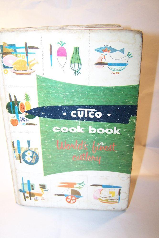 Cutco Cutlery Cookbook Margaret Mitchell Vol 1 1956 vintage cook book recipes