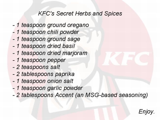Fake kentucky fried chicken gravy recipes
