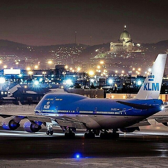 Night Flight - KLM B747-400
