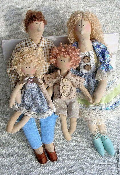Muñecas tildas de SVETLANA Shipilova
