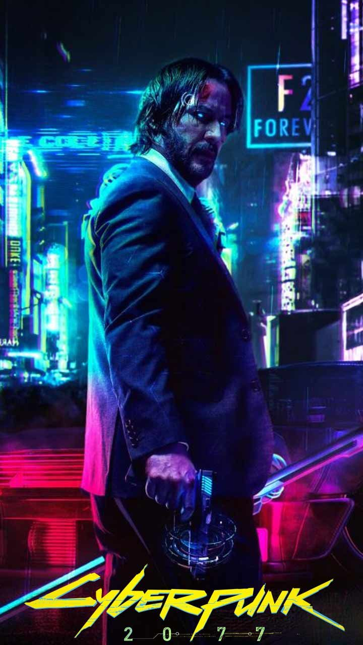 Cyberpunk 2077 Wallpaper Hd Phone Backgrounds Night City Game Logo Art Poster On Iphone Android Cyberpunk 2077 Cyberpunk Cyberpunk Art